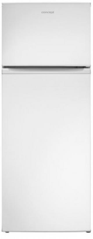 Kombinovaná lednice s mrazákem nahoře concept lft4560wh