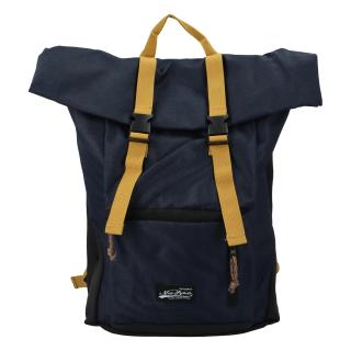 Kombinovaný cestovní batoh tmavě modrý - New Rebels Klassier pánské
