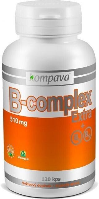Kompava B-Complex Extra 510 mg 120 caps. pánské