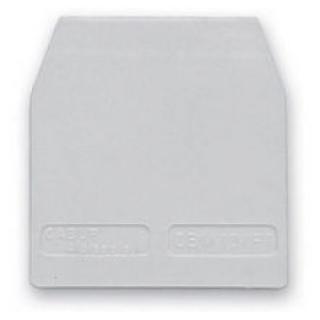 Koncová přepážka pro svorky Cabur CBC.2-4-6-10 šedá CB061GR CBC.2-10/PT/GR