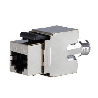 Konektor keystone Solarix SXKJ-5E-STP-BK Cat.5e STP RJ45