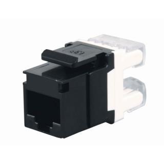 Konektor keystone Solarix SXKJ-5E-UTP-BK Cat.5e UTP RJ45