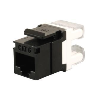 Konektor keystone Solarix SXKJ-6-UTP-BK CAT6 UTP RJ45