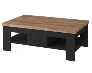 Konferenční stolek Boston, černý/dub ribbeck Černá