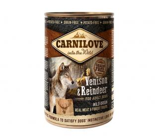 Konzerva Carnilove Wild Meat Venison&Reindeer 400g