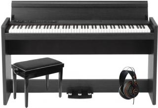 Korg LP-380 Rosewood Grain Black SET