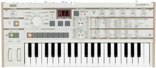 Korg MicroKORG S Synthesizer Vocoder White