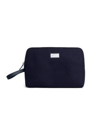 Kosmetická Taška Gant D1. Canvas Washbag dámské modrá