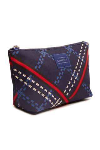 Kosmetická Taška Gant D1. Signature Weave Make Up Bag dámské modrá