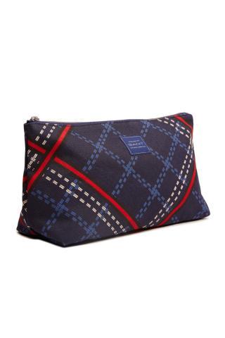 Kosmetická Taška Gant D1. Signature Weave Wash Bag dámské modrá
