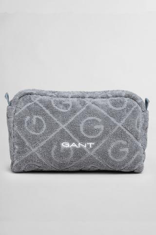 Kosmetická Taška Gant Organic G Washbag dámské šedá