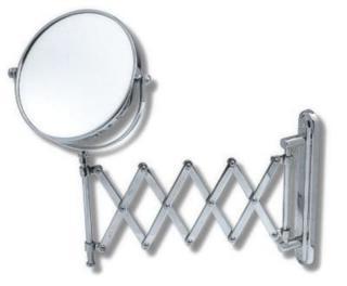 Kosmetické zrcátko Novaservis x15 cm chrom 6968,0 chrom chrom