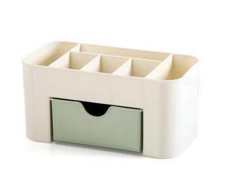 Kosmetický organizér plastový - 3 varianty Varianta: zelená