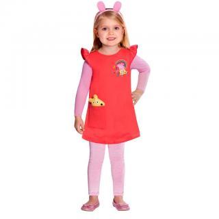Kostým Prasátko Peppa - víla, 2-3 roky