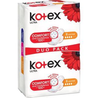 Kotex Ultra Comfort Normal vložky 16 ks dámské 16 ks