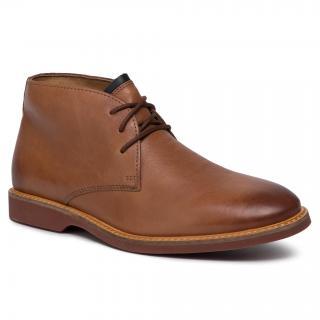 Kotníková obuv CLARKS - Atticus Limit 261367407  Tan Leather pánské Hnědá 45