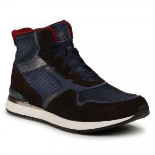 Kotníková obuv LASOCKI FOR MEN - MB-072-06 Cobalt Blue Tmavomodrá 45