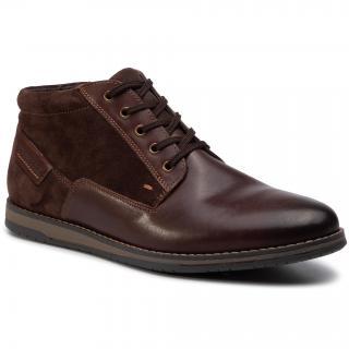 Kotníková obuv LASOCKI FOR MEN - MI07-A803-A632-02 Brown pánské Hnědá 40