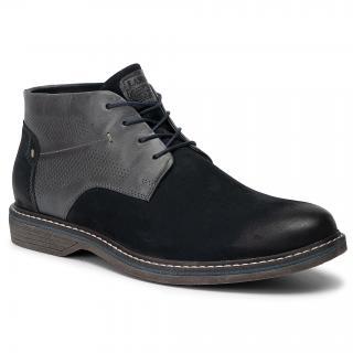 Kotníková obuv LASOCKI FOR MEN - MI08-C597-588-02 Cobalt Blue pánské Tmavomodrá 40
