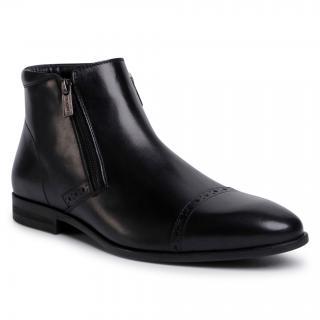 Kotníková obuv LASOCKI FOR MEN - MI08-C770-768-06  Black pánské Černá 41