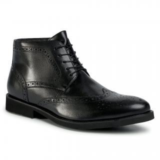 Kotníková obuv LASOCKI FOR MEN - MI08-C774-706-05 Black pánské Černá 41
