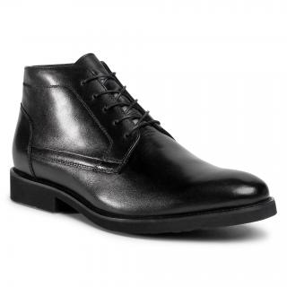 Kotníková obuv LASOCKI FOR MEN - MI08-C774-706-09 Black pánské Černá 44