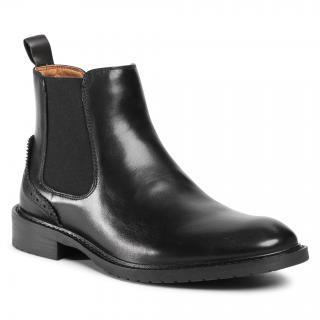 Kotníková obuv s elastickým prvkem BIG STAR - GG174325 906 Black pánské Černá 44