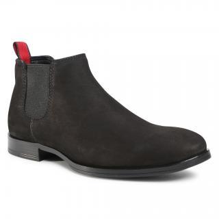 Kotníková obuv s elastickým prvkem LASOCKI FOR MEN - MB-JEREMY-38 Black pánské Černá 44