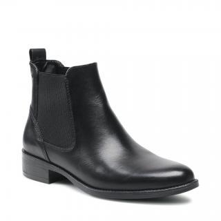 Kotníková obuv s elastickým prvkem TAMARIS - 1-25020-27  Black 001 dámské Černá 41
