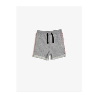 Koton Baby Boy Gray Normal Waist Shorts pánské Other 9-12 AY