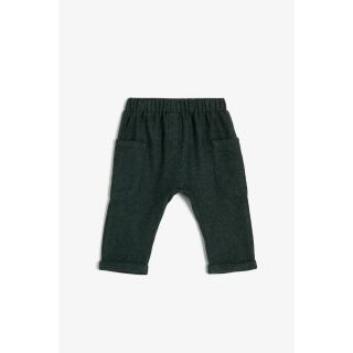 Koton Baby Boy Navy Blue Sweatpants pánské Other 6-9 AY