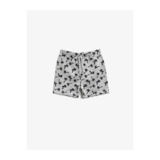 Koton Baby Boy Printed Tie Waist Cotton Shorts pánské Other 12-18 AY