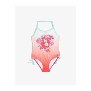Koton Disney Licensed Ariel Printed Swimsuit dámské Red 11-12 years