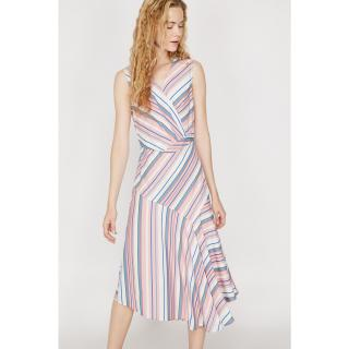 Koton Dress dámské Blue 34