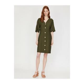 Koton Dress dámské Green 34