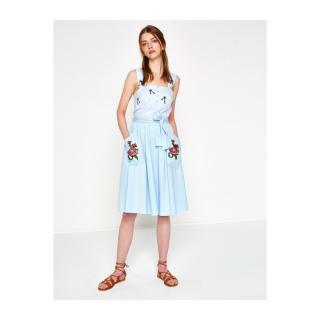 Koton Embroidery Detail Skirt dámské Blue 40
