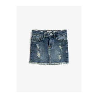 Koton Girl Blue Cotton Denim Skirt dámské Other 9-10 years