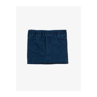 Koton Girl Blue Cotton Pocket Jean Skirt dámské Other 11-12 years