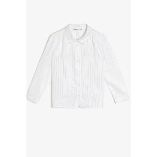 Koton Girl Ecru Shirt dámské Other 9-10 years
