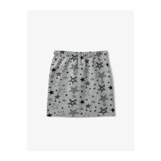 Koton Girl Gray Star Patterned Skirt dámské Other 4-5 Y