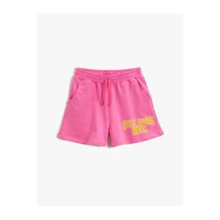 Koton Girl Pink Printed Sort Cotton dámské Other 5-6 Y