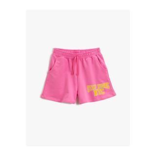 Koton Girl Pink Printed Sort Cotton dámské Other 9-10 years