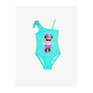 Koton Girls Blue Minnie By Swimsuit dámské 7-8 Y