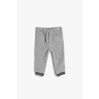 Koton Gray Baby Boy Sweatpants pánské Other 6-9 AY