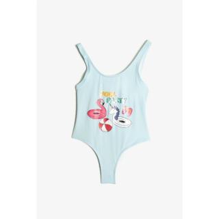 Koton Light Blue Girls Swimwear dámské 11-12 years