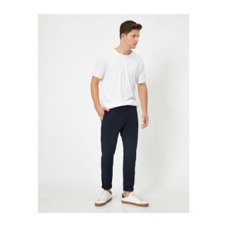 Koton Men Navy Blue Jeans pánské černá   šedá 44