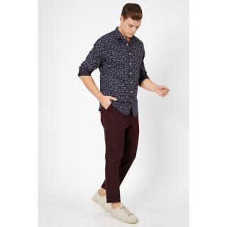 Koton Mens Brown Pocket Detailed Trousers pánské Coffee 40