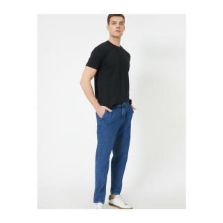 Koton Mens Pocket Detailed Jean Trousers pánské Blue 30/30