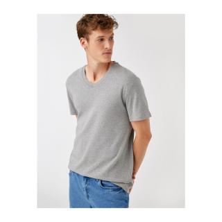 Koton Mens T-Shirt Ss Bsc pánské Other XS