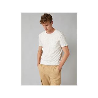 Koton Mens White T-Shirt pánské Other S
